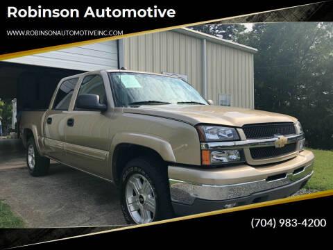 2004 Chevrolet Silverado 1500 for sale at Robinson Automotive in Albemarle NC