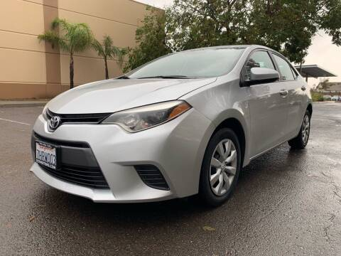 2015 Toyota Corolla for sale at 707 Motors in Fairfield CA
