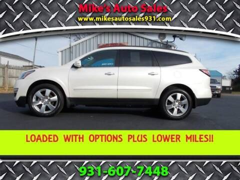 2015 Chevrolet Traverse for sale at Mike's Auto Sales in Shelbyville TN