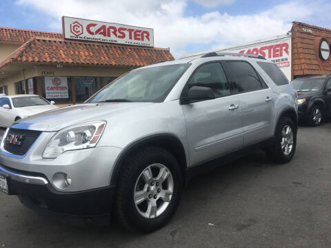 2012 GMC Acadia for sale at CARSTER in Huntington Beach CA