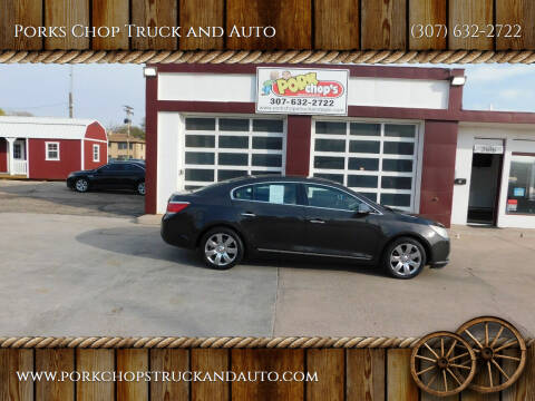 2013 Buick LaCrosse for sale at Porks Chop Truck and Auto in Cheyenne WY