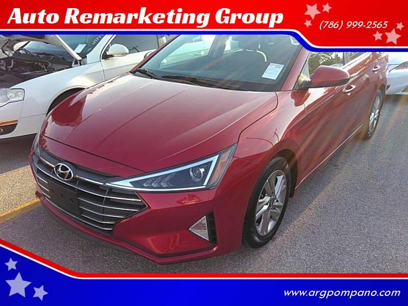 2020 Hyundai Elantra for sale at Auto Remarketing Group in Pompano Beach FL