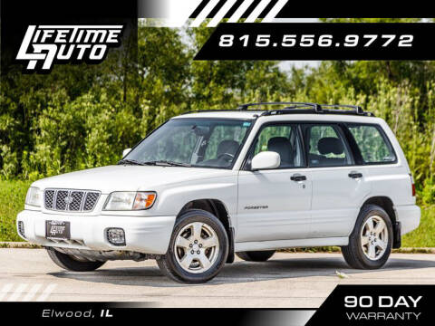 2002 Subaru Forester for sale at Lifetime Auto in Elwood IL