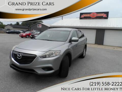 2013 Mazda CX-9 for sale at Grand Prize Cars in Cedar Lake IN