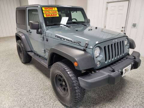 2014 Jeep Wrangler for sale at LaFleur Auto Sales in North Sioux City SD