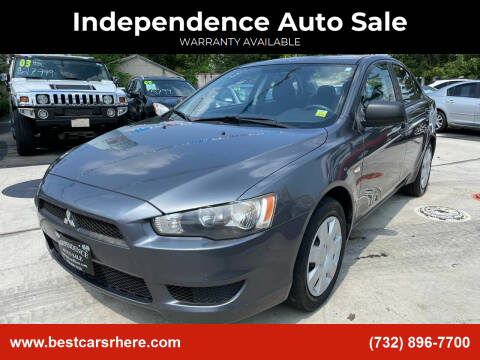 2009 Mitsubishi Lancer for sale at Independence Auto Sale in Bordentown NJ