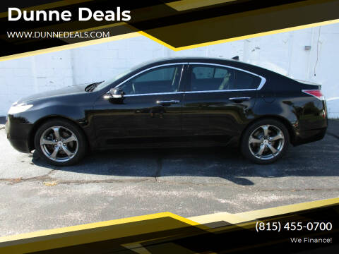 2011 Acura TL for sale at Dunne Deals in Crystal Lake IL