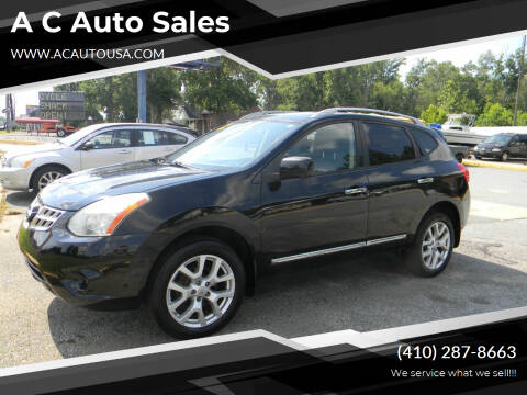 2012 Nissan Rogue for sale at A C Auto Sales in Elkton MD