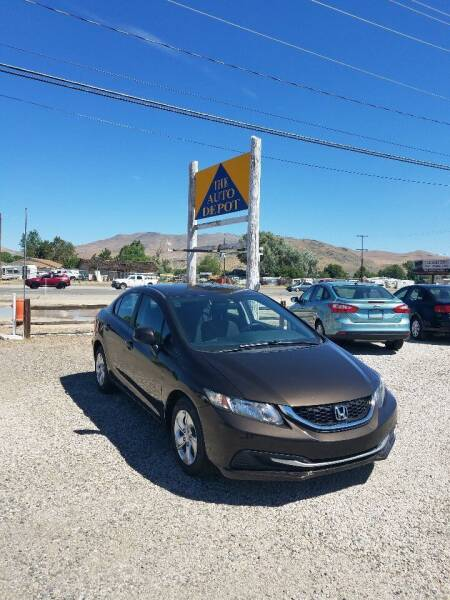 2013 Honda Civic for sale at Auto Depot in Carson City NV