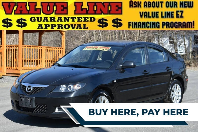 2007 Mazda MAZDA3 for sale at GREENPORT AUTO in Hudson NY