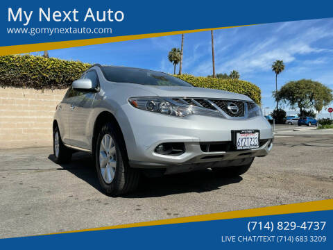 2012 Nissan Murano for sale at My Next Auto in Anaheim CA