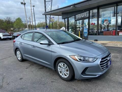2017 Hyundai Elantra for sale at Smart Buy Car Sales in St. Louis MO