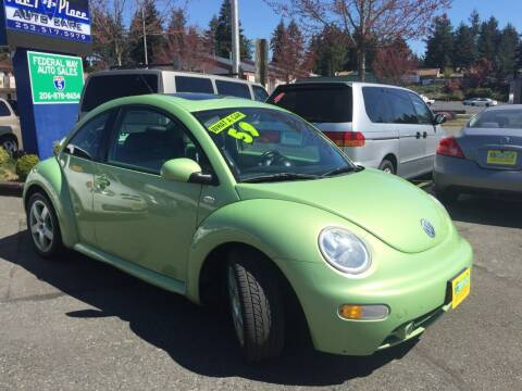 2003 Volkswagen New Beetle for sale at Federal Way Auto Sales in Federal Way WA