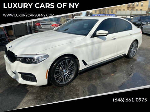 2018 BMW 5 Series for sale at LUXURY CARS OF NY in Queens NY