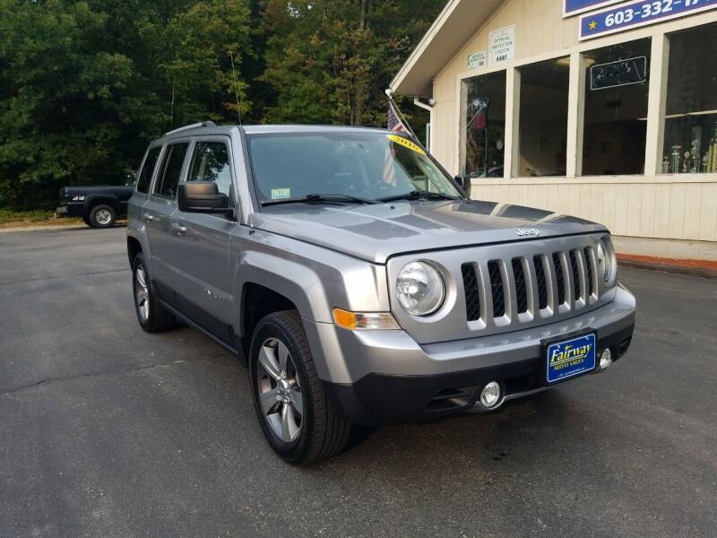 2016 Jeep Patriot for sale at Fairway Auto Sales in Rochester NH