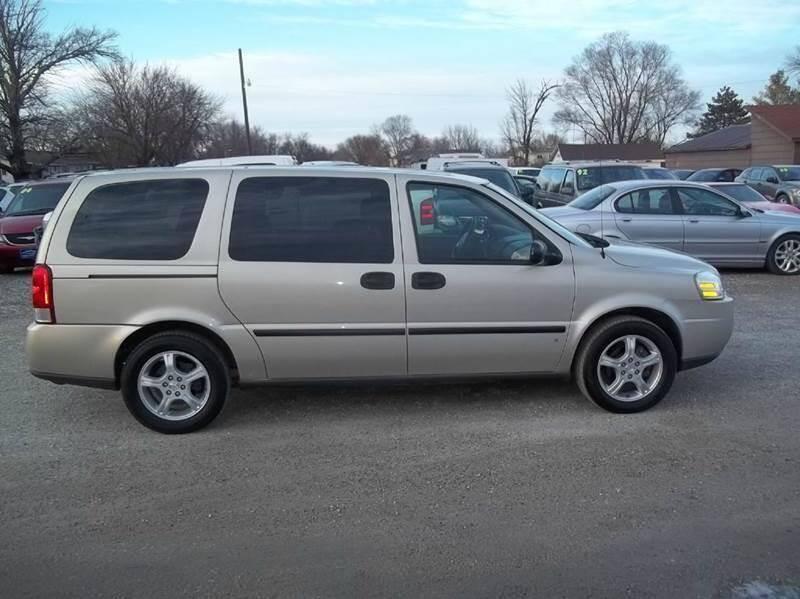2007 Chevrolet Uplander for sale at BRETT SPAULDING SALES in Onawa IA