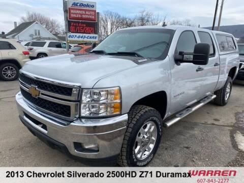 2013 Chevrolet Silverado 2500HD for sale at Warren Auto Sales in Oxford NY