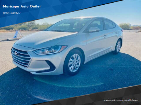 2017 Hyundai Elantra for sale at Maricopa Auto Outlet in Maricopa AZ