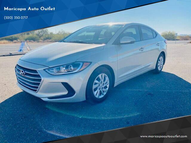 2017 Hyundai Elantra for sale at Maricopa Auto Outlet in Maricopa AZ