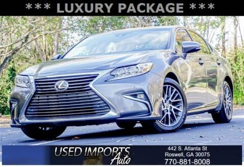 2017 Lexus ES 350 for sale at Used Imports Auto in Roswell GA