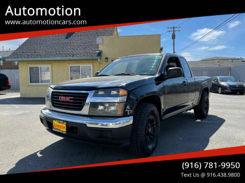 2006 GMC Canyon for sale at Automotion in Roseville CA
