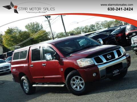 2004 Nissan Titan for sale at Star Motor Sales in Downers Grove IL