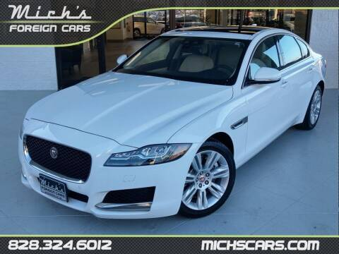 2016 Jaguar XF for sale at Mich's Foreign Cars in Hickory NC
