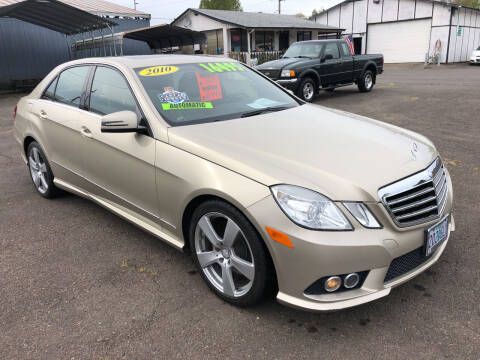 2010 Mercedes-Benz E-Class for sale at Freeborn Motors in Lafayette, OR