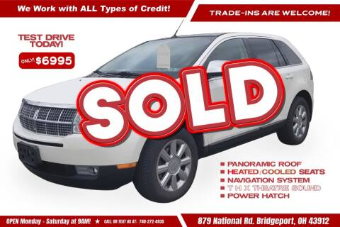 2008 Lincoln MKX for sale at Steel River Auto in Bridgeport OH