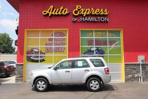 2011 Ford Escape for sale at AUTO EXPRESS OF HAMILTON LLC in Hamilton OH