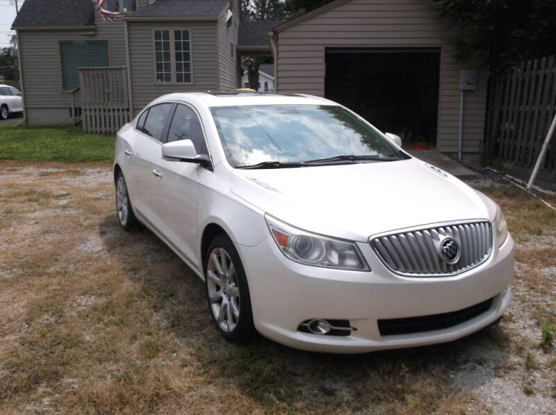 2011 Buick LaCrosse for sale at Straight Line Motors LLC in Fort Wayne IN