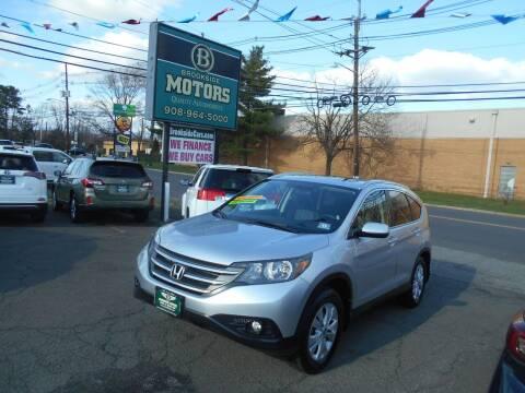 2014 Honda CR-V for sale at Brookside Motors in Union NJ