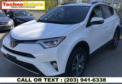 2017 Toyota RAV4 for sale at Techno Motors in Danbury CT