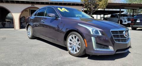 2014 Cadillac CTS for sale at FRANCIA MOTORS in El Paso TX
