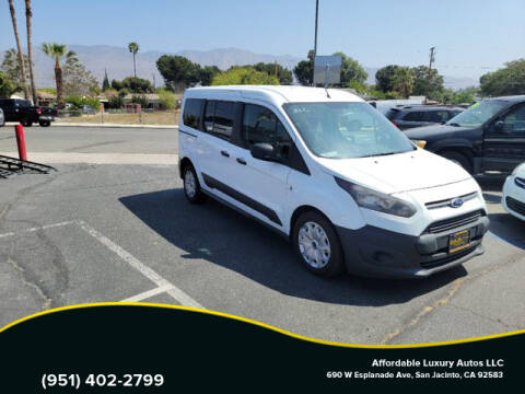 2015 Ford Transit Connect Wagon for sale at Affordable Luxury Autos LLC in San Jacinto CA