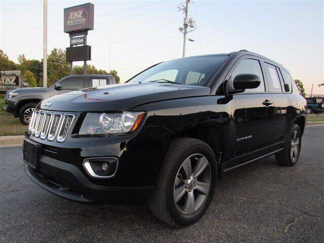 2017 Jeep Compass for sale at J T Auto Group in Sanford NC