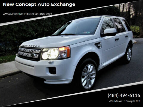 2011 Land Rover LR2 for sale at New Concept Auto Exchange in Glenolden PA