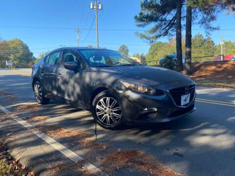 2015 Mazda MAZDA3 for sale at THE AUTO FINDERS in Durham NC