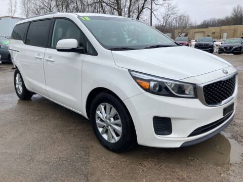 2016 Kia Sedona for sale at SUNSET CURVE AUTO PARTS INC in Weyauwega WI