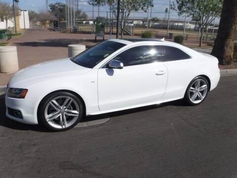 2010 Audi S5 for sale at J & E Auto Sales in Phoenix AZ