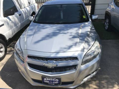 2013 Chevrolet Malibu for sale at AMIGO USED CARS in Houston TX