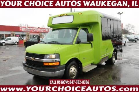 2014 Chevrolet 3500 Express Cutaway for sale at Your Choice Autos - Waukegan in Waukegan IL