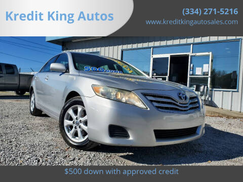 2011 Toyota Camry for sale at Kredit King Autos in Montgomery AL