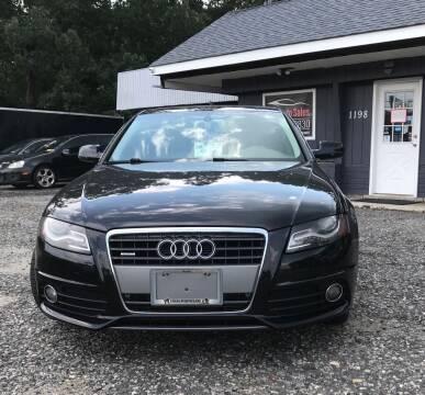 2012 Audi A4 for sale at O & E Auto Sales in Hammonton NJ