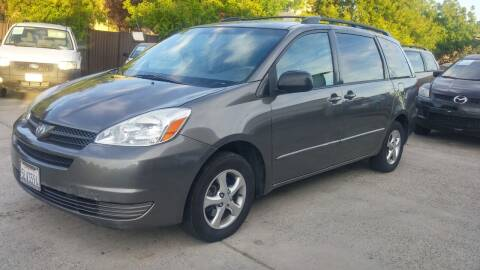 2005 Toyota Sienna for sale at Carspot Auto Sales in Sacramento CA