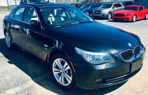 2009 BMW 5 Series for sale at RD Motors, Inc in Charlotte NC