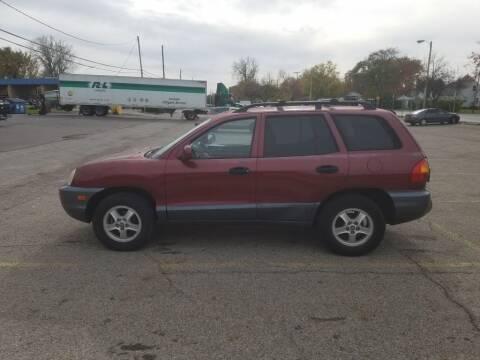 2004 Hyundai Santa Fe for sale at REM Motors in Columbus OH