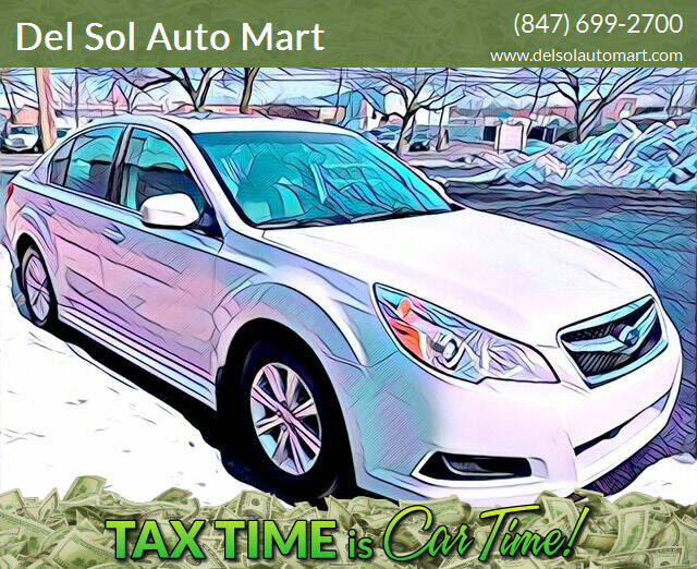 2012 Subaru Legacy for sale at Del Sol Auto Mart in Des Plaines IL