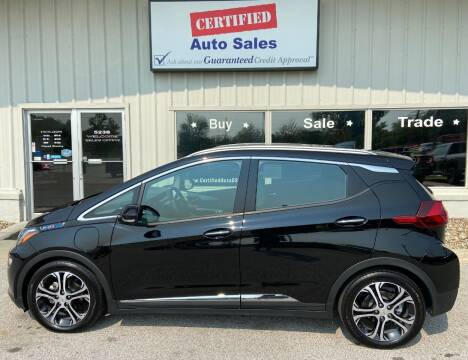 2017 Chevrolet Bolt EV for sale at Certified Auto Sales in Des Moines IA
