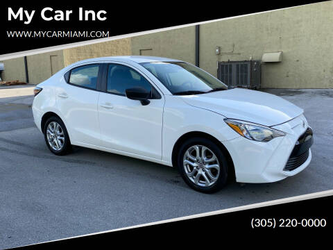 2016 Scion iA for sale at My Car Inc in Pls. Call 305-220-0000 FL